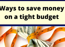 save money on budget
